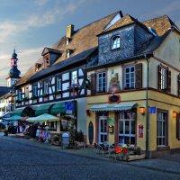 Уют и тепло маленьких городов на Рейне :: Лидия Цапко