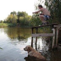Мы на рыбалке :: Юрий Стародубцев