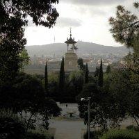 Музей Каталонии, вид на город :: Inna Kort