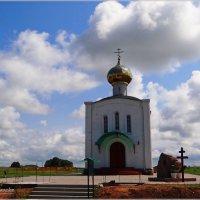 Храм в Честь Святого Благоверного князя Дмитрия Донского. :: Антонина Гугаева