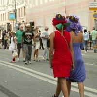 Праздник на Тверской :: Ирина Татьяничева
