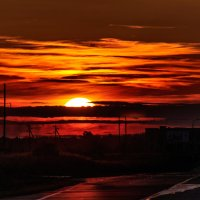 Закат над Шумилином. 22.08.2014. 02. :: Анатолий Клепешнёв