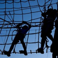 Репортаж из веревочного парка :: Дарья Казбанова