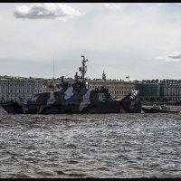 Головной противодиверсионный катер проекта 21980  «Нахимовец» :: Евгений Никифоров