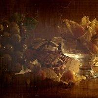 физалис и виноград :: анна нестерова