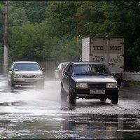 Моя Москва. Дождь :: Михаил Розенберг