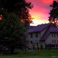 Красный закат :: Игорь Вишняков