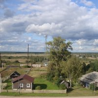 Село Сизьма, Вологодский край. :: Ludmil Sams