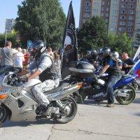 Байкеры на празднике ...День Российского флага . :: Мила Бовкун