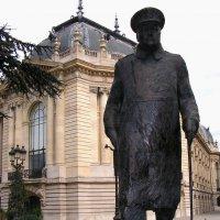 Сэр Черчиль в Париже :: Елена Даньшина