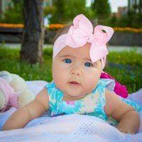 Blue eyed baby girl :: Yelena Li
