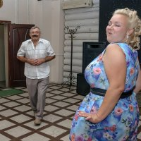 В предвкушении энергичного танца :: Альберт Ханбиков