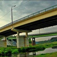 Старая Руза, мосты :: Дмитрий Анцыферов