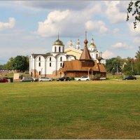Три храма и театр. :: Роланд Дубровский