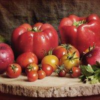 С паприкой и помидорами. :: Елена Kазак