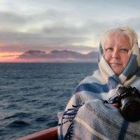 На исходе дня я снимаю туманные горы :: Tatiana Belyatskaya