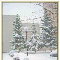 Весь город в снегу :: Лидия (naum.lidiya)