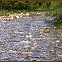 А по камушкам речка бежит.. :: Любовь Чунарёва