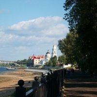 Набережная Волги в Рыбинске :: Domna Kuznechic