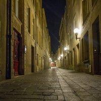 Город Метц ночью.Франция :: leo yagonen