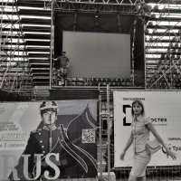 Монтажник на сцене!))) :: Ирина Егорова