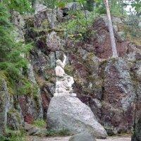 "Скульптура ""Вяйнямейнен, играющий на кантеле"". :: Наталья (Nattina) ..."