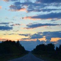 на закате... :: Светлана