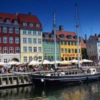 Копенгаген. Новая гавань :: Николаева Наталья