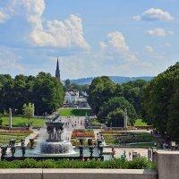 Парк Вигелана в Осло. Часть композиции. :: Николаева Наталья
