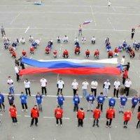 Флаг россии и люди. :: Leyla King