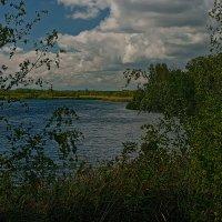 У озера. :: Яков Реймер