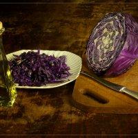 Капустный салатик. :: Алексей Мурыгин