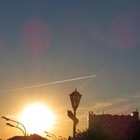 Закат в г. Казань :: Надежда НадежДа