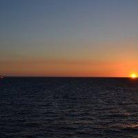 Вечер в море :: Ольга