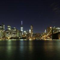 Вечерний город Нью-Йорк :: Galina Kazakova