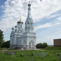 Петергофская церковь во имя святой мученицы царицы Александры, 1854 г. :: Елена Смолова