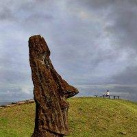 Идолы острова Пасхи :: Tatiana Belyatskaya