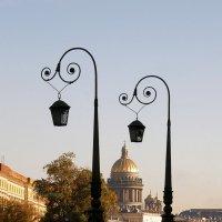 Петербургские фонари :: Вера Моисеева