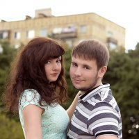 Оля и лёша :: Диана Калинина