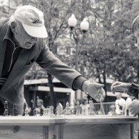 шахматы на бульваре -1 :: Максим Должанский