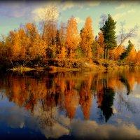 северная речка Хыльмингъяха. :: Лариса Красноперова