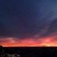 Закат. Астана. :: Рустем Жансеитов