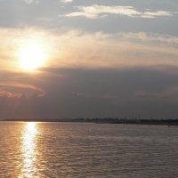 Закат на Финском заливе. :: Жанна Викторовна