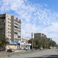 Нарисованная улица :: Евгений Алябьев