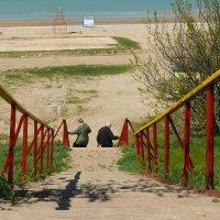 Свидание на пляже :: Елена Карманчикова
