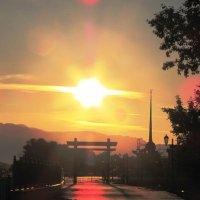 Утром на берегу Енисея :: Ольга Иргит