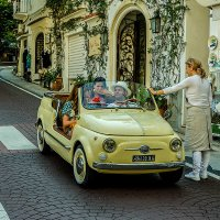 Уличная сценка (Позитано, Италия) :: Владимир Горубин