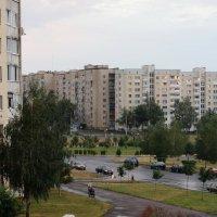 Городской пейзаж. Вечер. :: Николай Котко