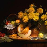 Золотых цветов шары... :: Валентина Колова