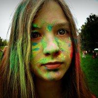 Девушка в краске :: Ольга Лисьева